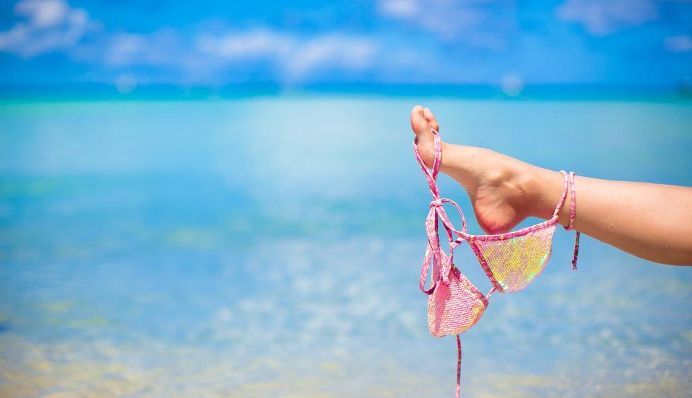 Sonstiges: Bikinioberteil - Strand