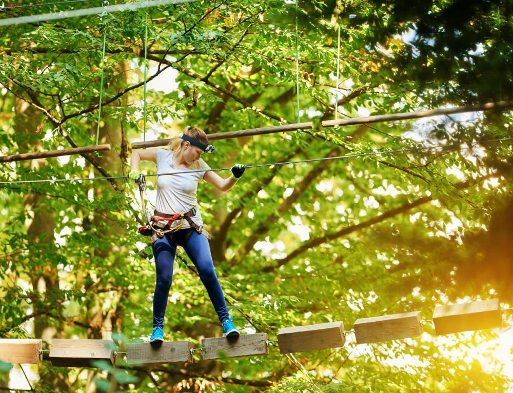 Mallorca für Jedermann - Jungle Parc Kletter Park