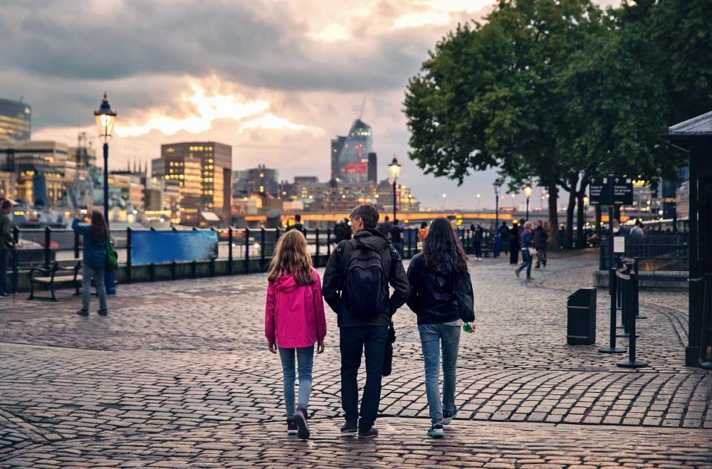 Reisen mit Kind: Familie - Städtereise