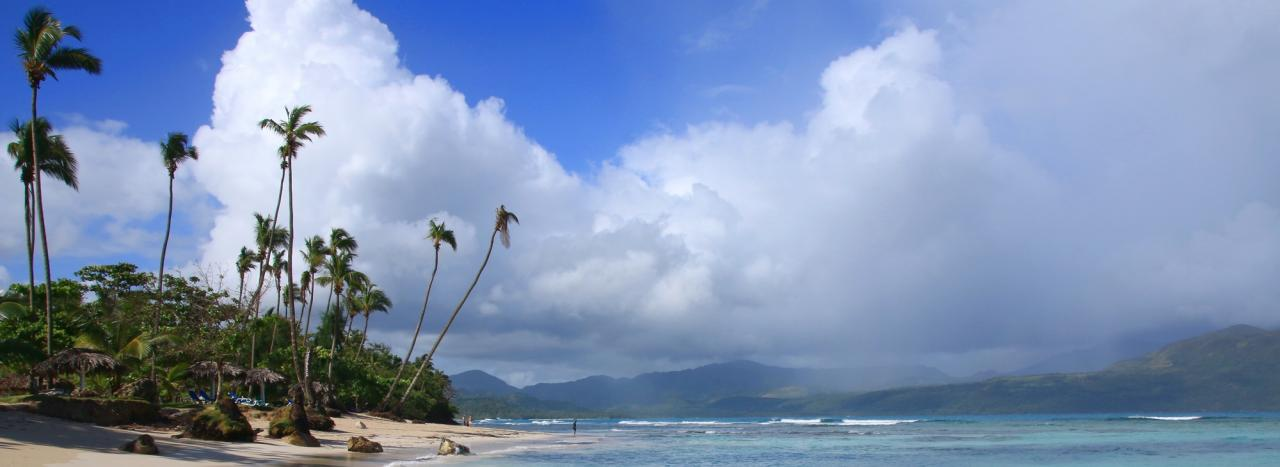 Dominikanische Republik: Strand Playa Rincon