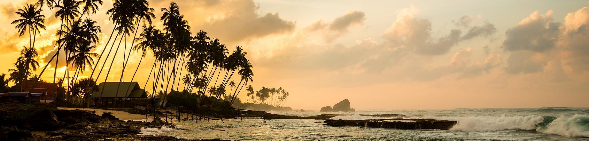 Sri Lanka: Strand Sonnenuntergang - Emotion
