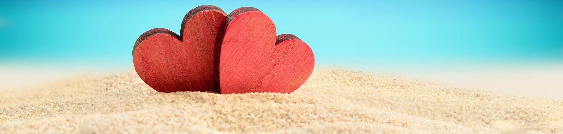 Sonstiges: Herzen - Strand - Emotion