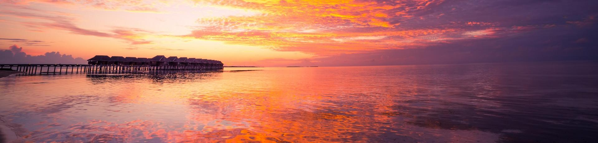 Malediven: Sonnenuntergang I - Emotion