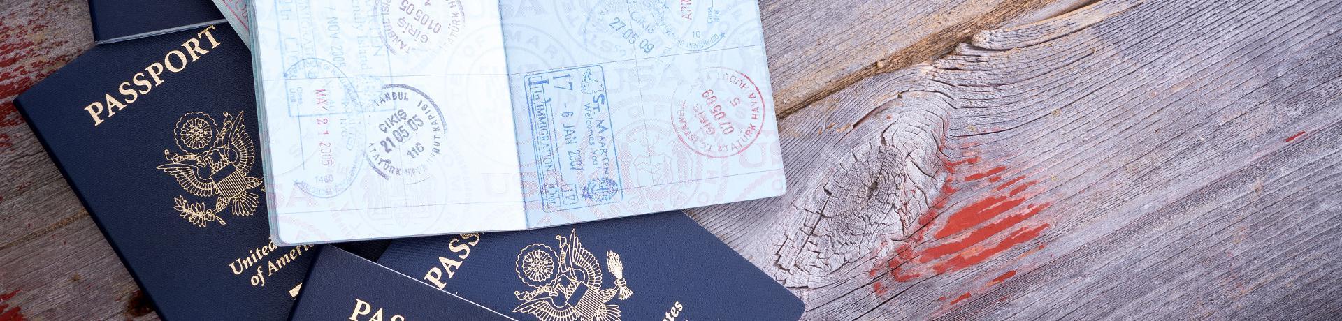 Emotion: Reisepass - Visum