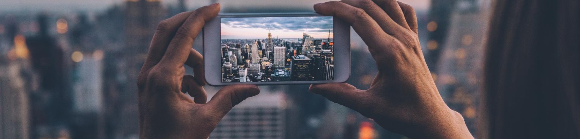 Sonstiges: Smartphone Foto New York