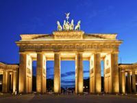 Bild für Brandenburger Tor bei Nacht