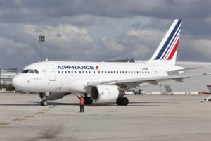 Air France am Flughafen Paris