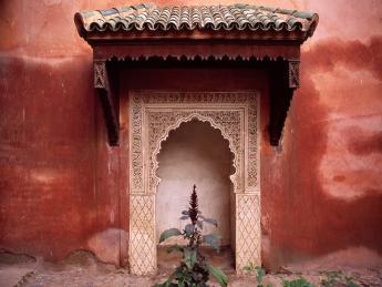 Saadier-Gräber - Marrakesch