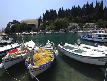 Hafen Kouloura - Korfu Stadt (Kerkyra)