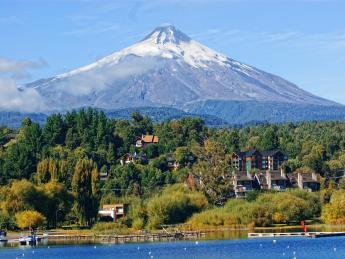 Vulkan Villarica - Pucón