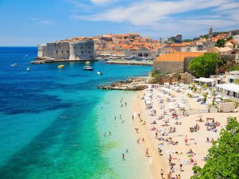 9090+Kroatien+Dalmatien+Dubrovnik+Banja_Strand+GI-528149529