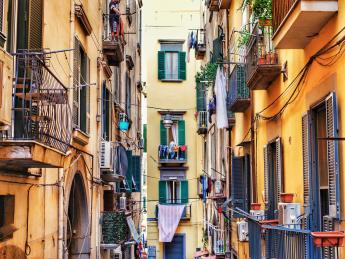 Altstadt von Neapel - Neapel