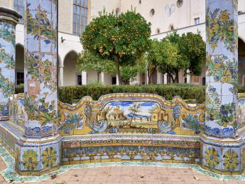 Basilica Santa Chiara - Neapel