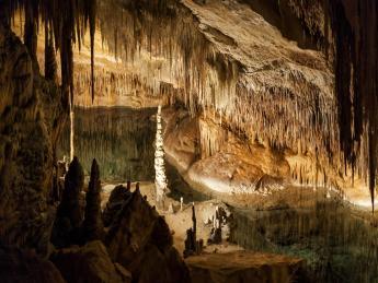 Drachenhöhlen - Porto Cristo