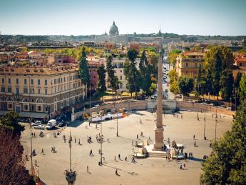 Piazza del Popolo - Rom