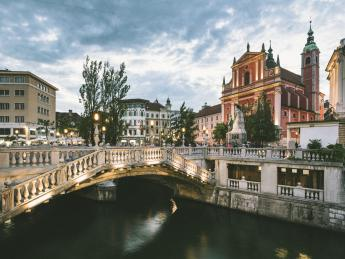 Tromostovje - Ljubljana