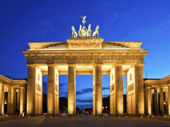 Brandenburger Tor bei Nacht - Berlin