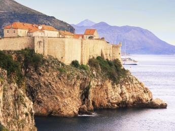 9090+Kroatien+Dalmatien+Dubrovnik+Festung_Lovrijenac+TS_494036625