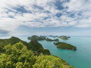 Nationalpark Mu Ko Ang Thong - Nang Thong Beach