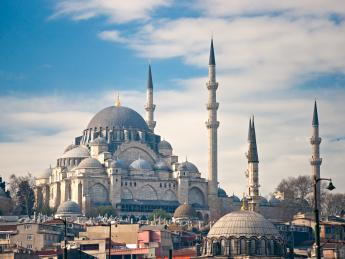 Süleymaniye-Moschee - Istanbul