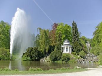 Große Fontäne Bergpark Wilhelmshöhe - Kassel
