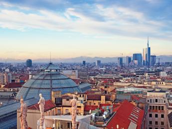 Skyline Mailand - Mailand