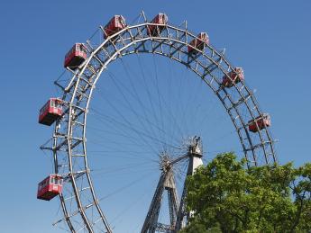 Wiener Riesenrad im Prater - Wien