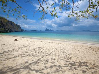 Strand von El Nido - Philippinen