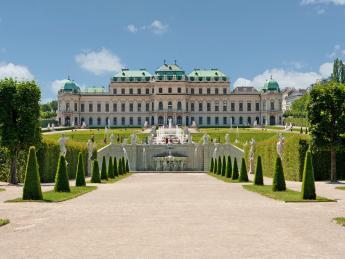 7564+Österreich+Wien+Schloss_Belvedere+TS_153486311