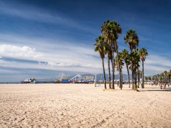 Santa Monica beach - Los Angeles