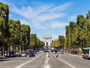 Arc de Triomphe, Triumphbogen - Paris