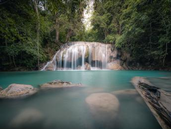 Erawan-Wasserfall - Kanchanaburi (River Kwai)