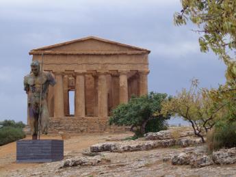 Archäologische Stätte von Agrigent - Agrigent