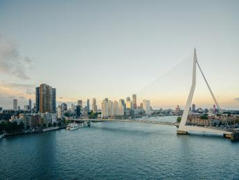 Erasmus Brücke - Rotterdam
