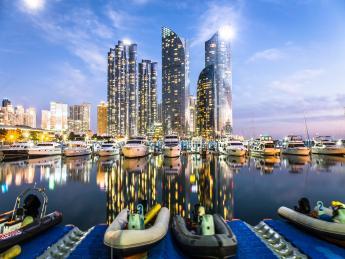 Marina Yacht Harbor - Busan