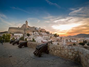 Dalt Vila Festung - Ibiza Stadt