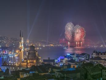 Hagia Sofia - Silvester in Istanbul