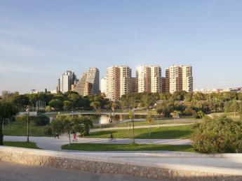 Garten des Turia - Valencia