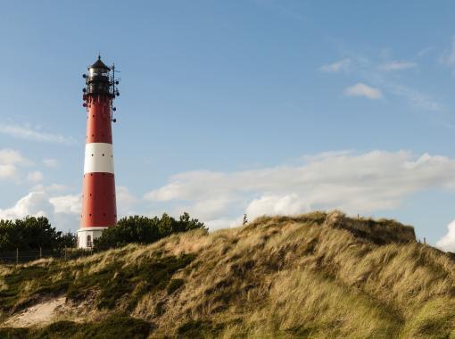 Deutschland: Nordsee - Nordfriesland - Inseln - Leuchtturm