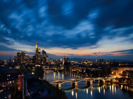 Frankfurt bei Nacht - Frankfurt Am Main