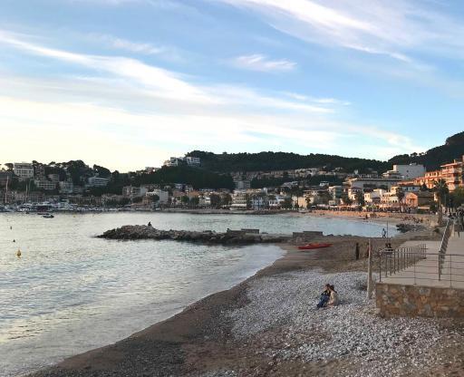 Spanien-Mallorca-Port de Soller-Strand_Werner