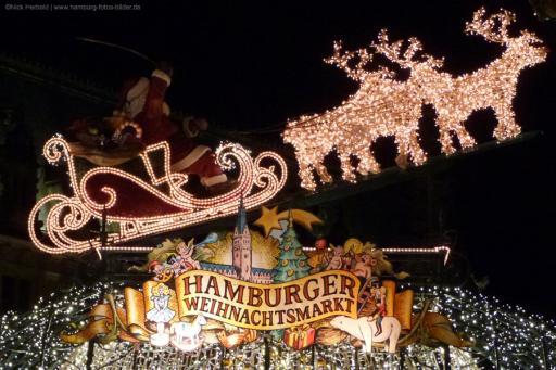 Infografik: Weihnachtsmarkt Hamburg