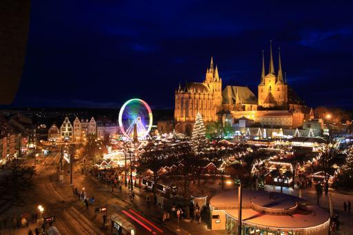Infografik: Weihnachtmarkt Erfurt
