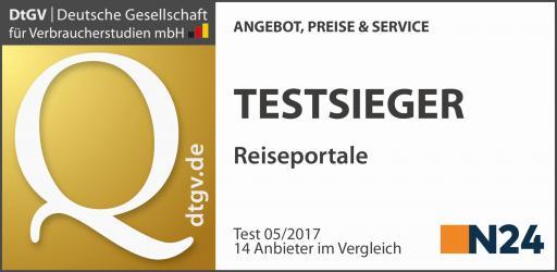 Siegel: DISQ - Testsieger - 2017