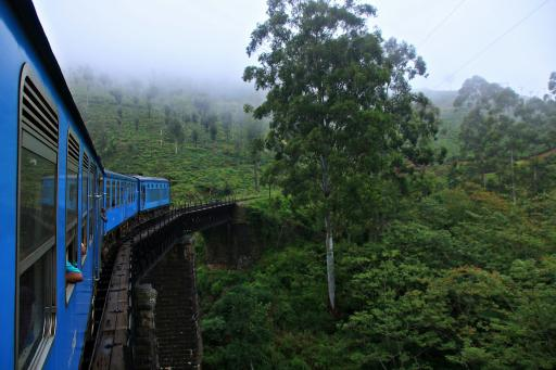 Sri Lanka: Hill Country - Zug