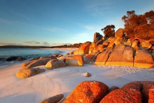 Bay of Fires - Tasmanien