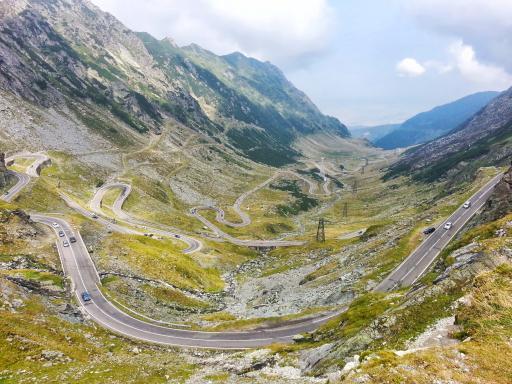 Transfagarasan alpine road - Rumänien
