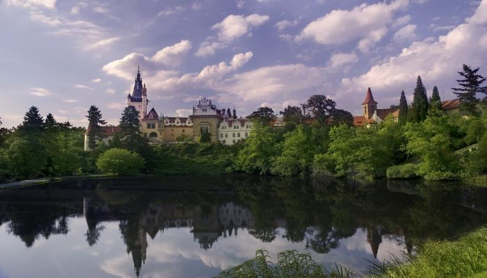 Schloss Průhonice,Park - Prag