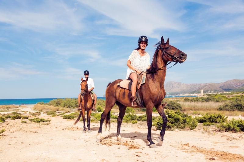 Mallorca für Jedermann - Reiten am Strand
