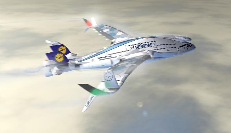 Zukunft des Reisens: Progress Eagle Lufthansa